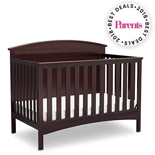 Delta Children Archer 4-in-1 Crib, Dark Chocolate
