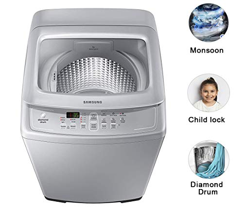 Samsung 7 kg Fully-Automatic Top Loading Washing Machine (WA70A4002GS/TL, Imperial Silver, Diamond drum) 2021 June Fully-automatic top load washing machine: Affordable with great wash quality, Easy to use Capacity 7.0 Kg: Suitable for families with 3 to 4 members Manufacturer Warranty: 2 years on product, 2 years on motor