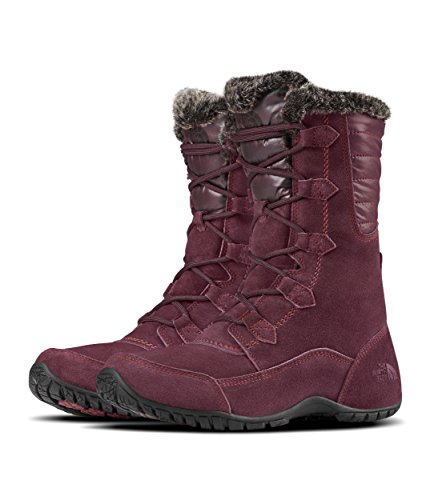 - The North Face Nuptse Purna II Boot - Women's Fig/Weathered Black, 11.0