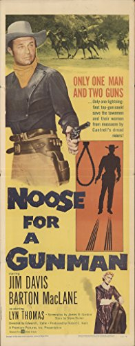 Noose for a Gunman 1960 Authentic 14