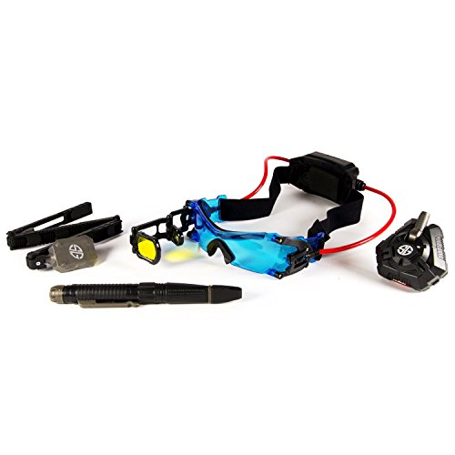 Alpha Set with Night Goggles, Tactical Mirror, Spy Recording Pen & Motion Alarm
