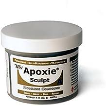 Apoxie Sculpt 1 Lb. Black, 2 part product (A & B)