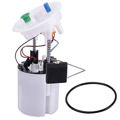 Bapmic 16147163298 Right Fuel Pump w/Sending Unit for BMW E88 E90 E92 E93 E84 X1 (Pump Fuel 325xi 2006)