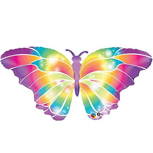 Qualatex Luminous Butterfly Giant Helium 44