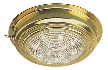 Brass Led Dome Light in US - 4