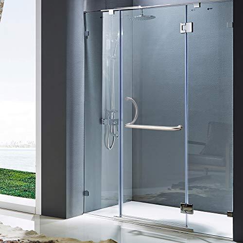 KEYI HARDWARE Stainless Steel Bathroom Secure Handicap Grab Bars Bath Handle Mirror -