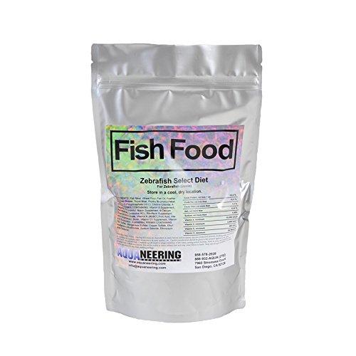 Diet Select - Aquaneering Fish Food Zebrafish Select Diet - 1 LB Bag