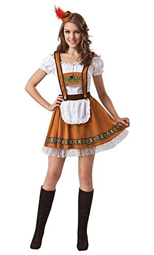 [Ladies German Country Bar Girl] (National Costume Of All Countries)
