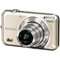 FUJIFILM FinePix Digital Camera JX280 Gold F FX-JX280G 14.1MP 5x Optical Zoom Wide angle28mm 2.7-inch Display - International Version