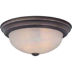 Quoizel MNR1615PN Manor 3 Light Flush Mount Lamp