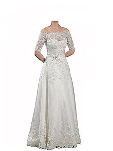 Alencon Lace Gown - 9