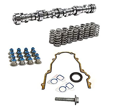 Camshaft and Spring Set Brian Tooley BTR Stage 4 Low Lift Truck Camshaft Vortec Truck Cam 3 Bolt Cam 4.8 5.3 6.0 Includes LS6 Single Beehive Valve Springs