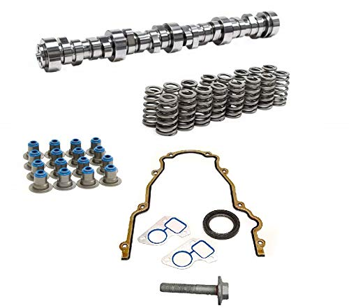 Brian Tooley BTR Stage 4 Low Lift Truck Camshaft Vortec Truck Cam 3 Bolt Cam 4.8 5.3 6.0 Includes LS6 Single Beehive Valve Springs and Gasket Kit (Camshaft, Spring Set and Gasket Kit)