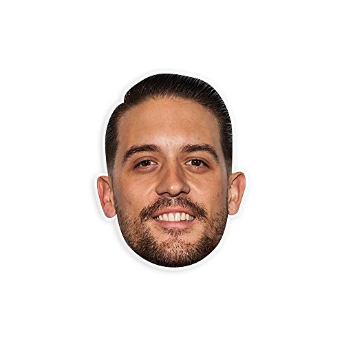 "Happy Bread G Eazy Mask by RapMasks - 12"" x 9"" Waterproof Laminated"