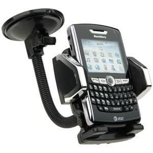Quaroth - Dream Wireless Universal Car Mount Holder for Cellphone/MP3/GPS - Retail Packaging - Black