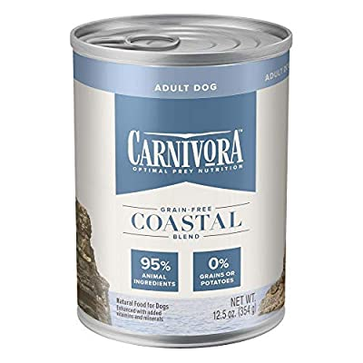 Blue Buffalo Blue Carnivora Coastal Blend Optimal Prey Nutrition Grain Free Adult Wet Dog Food