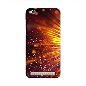 Cover It Up - Gold Exploding Redmi 5A Hard Case