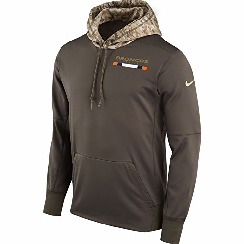 NFL NIKE 2017 Denver Broncos Salute To Service Hoodie Pullover (X-Large) by NFL NIKE