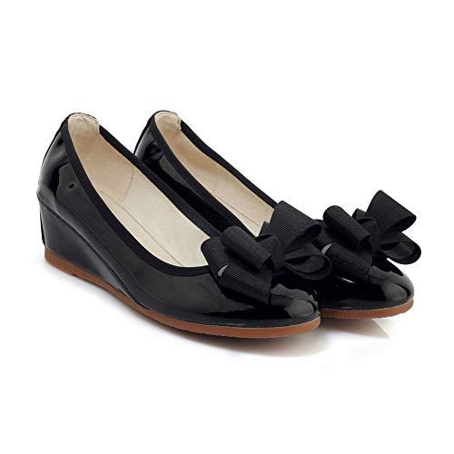 5 EU Noir Noir AN DGU00746 Sandales Compensées 36 Femme wnXfF0q8P