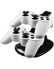 ChannelExpert Dual Stand Dual-ladestation Docking Station Stand f�r PS3 Controller schwarz