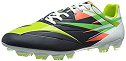 Diadora DD-NA 2 GLX1 Soccer Cleat, Tuareg Blue/Fluorescent Green, 6 D(M) US