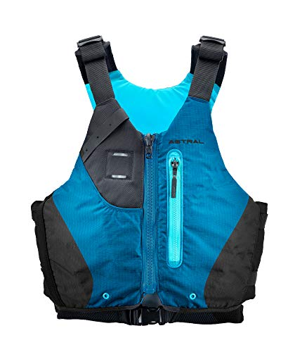 Astral Women's Abba Life Jacket PFD for Whitewater Canoeing and Touring Kayaking, Blue, Small/Medium (Best Life Jacket For Canoeing)