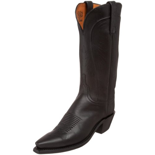 1883 by Lucchese Womens N4605.54 Boot Black