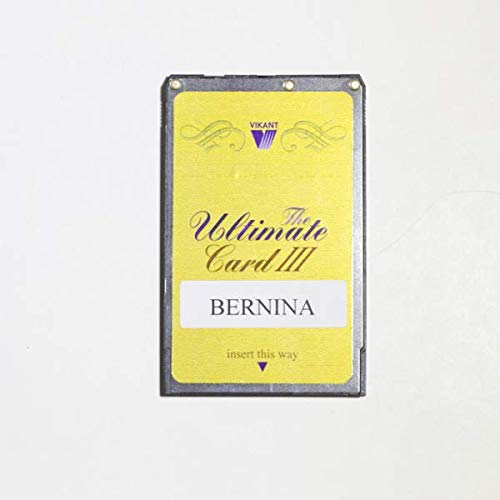 Ultimate Card for Bernina Deco 330 for Vikant Ultimate Box Embroidery Design Converter