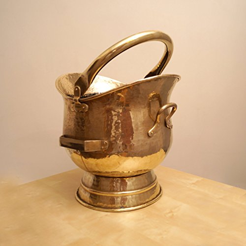 Brass Coal Bucket - 7