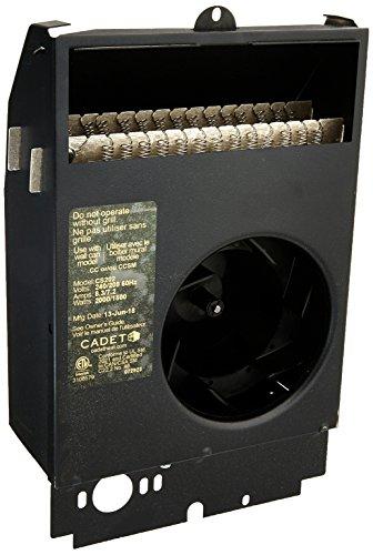 - Cadet Com-Pak Plus 8 in. x 10 in. 2000-Watt 240-Volt Fan-Forced Wall Heater Assembly