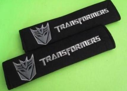(Transformers w/Decepticon Logo Seatbelt Shoulder Pad Cover - one Pair)