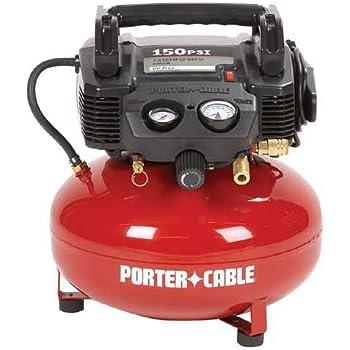PORTER-CABLE C2002 Oil-Free UMC Pancake Compressor - Air
