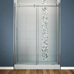 Maax Reveal 48 In X 71 5 In Frameless Pivot Shower Door