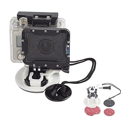 Gorilla Gear Tech Action Camera Board / Watersports Attachment Kit - 2 Year Warranty