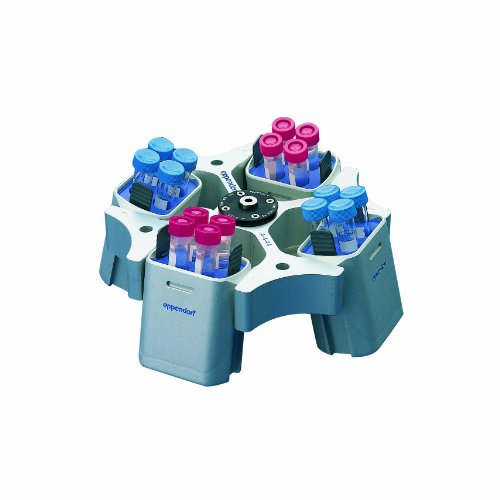 Bucket Swing Rotor - Eppendorf 022639048 Swing Bucket Rotor A-4-38 with 4 x 100 mL Round Buckets for Centrifuge Model 5702/R/RH, 4-Place