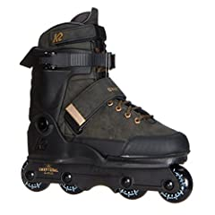Athlete-approved and the flagship of the K2 Aggressive series is the Unnatural aggressive inline skate, geared for hard-charging skaters looking to push the boundaries of the sport. Built around a rich, black leather-textured upper, the Unnat...