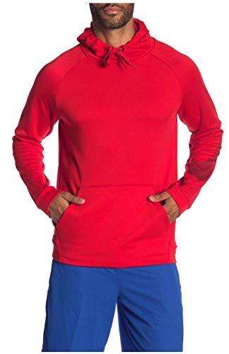 Nike Men's Dri-Fit Training Logo Hoodie-University Red-XL