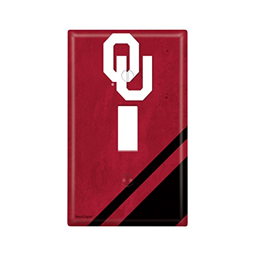 Oklahoma Sooners Single Toggle Light Switch Cover NCAA