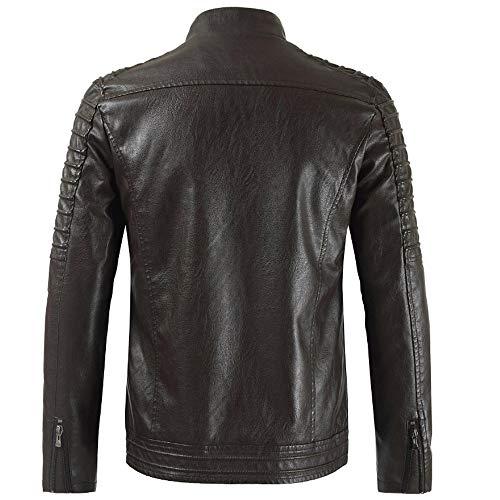 Negro20 Casual Hombre Calientes De Chaquetas Otoño Abrigos Invierno Moda Zodof Térmica Chaqueta Botón B7xqC0H
