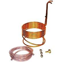 """Home Brew Stuff WC-25 HomeBrewStuff Super Efficient 3/8"""" x 25' Copper Wort Chiller"""