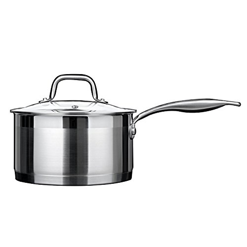 Duxtop Professional Stainless steel Cookware Induction Ready Impact-bonded Technology