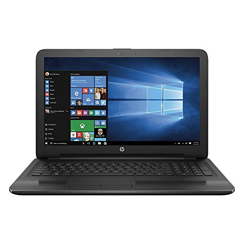 HP 15.6-inch Laptop PC, AMD Quad-Core APU 2.0GHz Processor, 4GB DDR3 RAM, 500GB HDD, Radeon R4 graphics, SuperMulti DVD Burner, HDMI, Windows 10 (Cd Recorder Microphone Input)