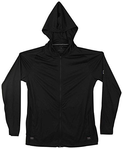 Hurley Icon Quick Dry Zip Hoody - Black - XL