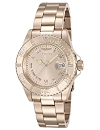 Invicta Women's 12821 Pro Diver Rose Dial Diamond Accented Watch, Pink