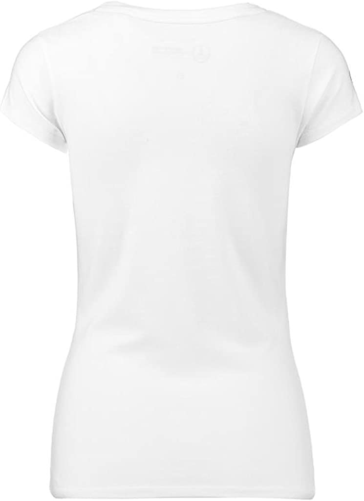 Mercedes Benz Petronas AMG Formula 1 Womens White Team Logo T-Shirt F1