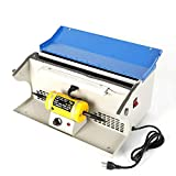 Uttiny Polishing Buffing Machine 8000RPM With Dust Collector Bench Jewelry Polisher Multi-Use 110V ... (Blue)