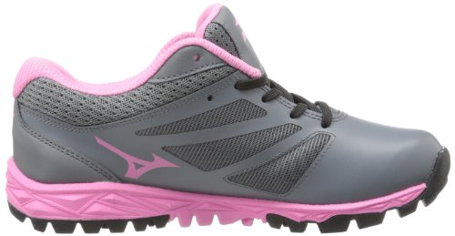 Mizuno Womens Speed Trainer 5 Turf Shoe Grey/Pink BgxyGuZ3U