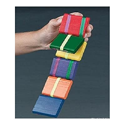 Rhode Island Novelty Jacob's Ladder-Old Fashion Colorful Wooden Toy -2 Pack: Toys & Games