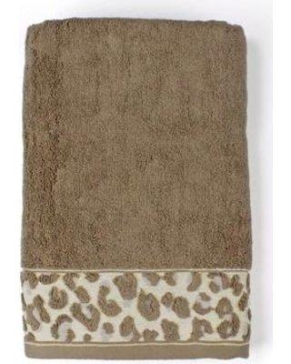 Saturday Knight Zanzibar Bathroom Shower Collection - Bath Towel (Zanzibar Leopard)