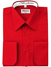 Men's Dress Shirt - Convertible French Cuffs - Huge Color Selection